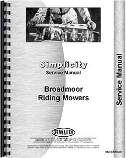 Simplicity Broadmoor 707 Lawn and Garden Tractor Service Manual (1967)