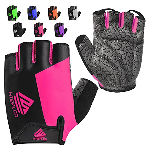 HTZPLOO Bike Gloves Cycling Gloves Mountain Bike Gloves