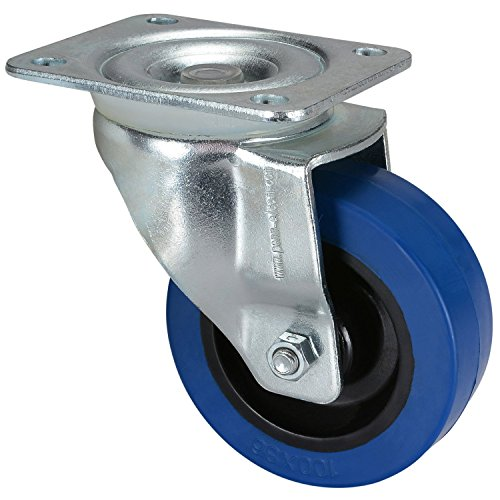 Penn Elcom Casters with for Heavy Duty Roadcases, Flightcases, and Heavy Equipment (Caster Single (1 Non-braked Caster))