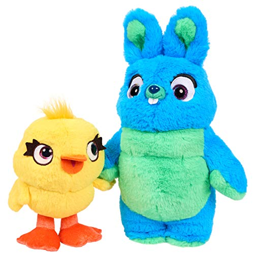 Disney-Pixar's Toy Story 4 Scented Friendship Plush Set, Ducky & Bunny