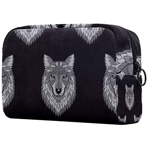 Bolsa de brochas de maquillaje personalizable, bolsa de aseo portátil para mujer, bolso cosmético,...