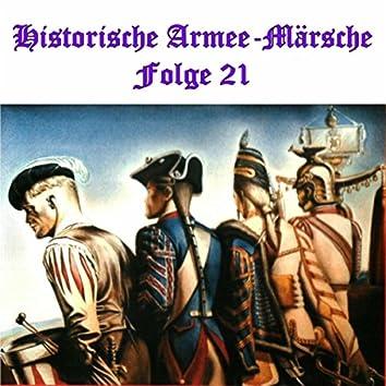 Historische Armee-Märsche Folge 21