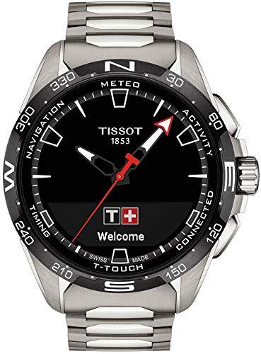 Tissot T-Touch Connect Solar, Titangehäuse, Gliederarmband, T121.420.44.051.00