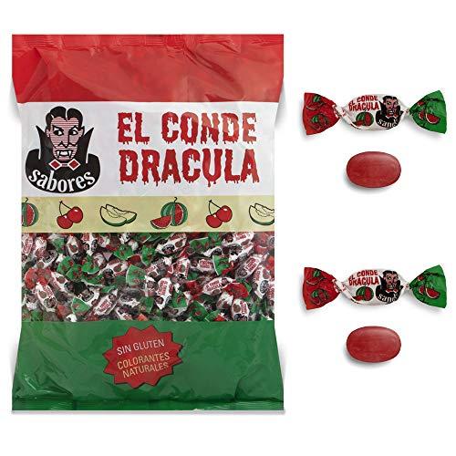 Cerdán Caramelos duro El Conde Drácula dos Lazos sabor Sandía 300 Unidades 1 kg