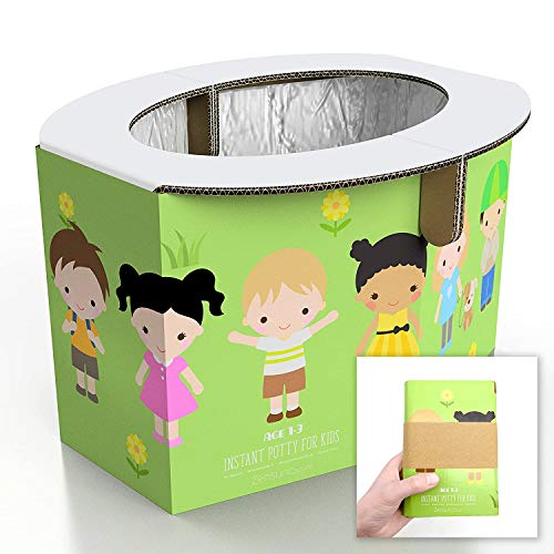 Zensuno Emergency Foldable Portable Disposable Hygienic Instant Potty for Kids Toddlers Small...