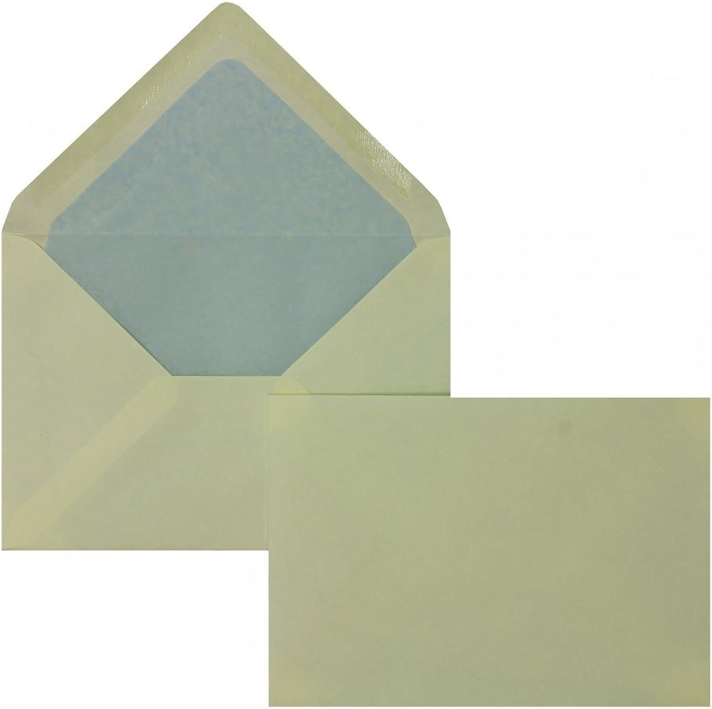 Farbige Briefhüllen   Premium Premium Premium   114 x 162 mm (DIN C6) Creme (100 Stück) Nassklebung   Briefhüllen, KuGrüns, CouGrüns, Umschläge mit 2 Jahren Zufriedenheitsgarantie B01DULELQO | Tadellos  4254d9
