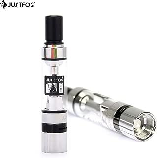 電子タバコ アトマイザー JUSTFOG Q14 (ジャストフォグ) 用 コイル1.6ohm 付き【 1.8ml 】お得な2個セット メンソール に強い PYREX ガラスタンク エアフロー調節可能