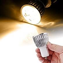 Lights Bulbs, 5 x 1W GU10 450LM White Light LED Spotlight Lighting Bulb (SKU : S-LED-1404WW)