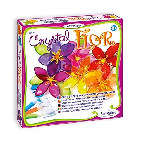 Creation VD–951–Set Kreative Freizeitbeschäftigungen,–Crystal Flor