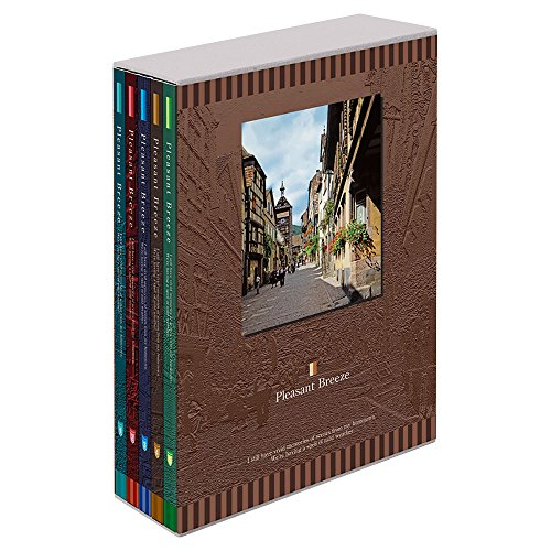 ナカバヤシ ポケットアルバム 5冊BOX L判360枚 アロマティ-クローズ 5PL-360-105