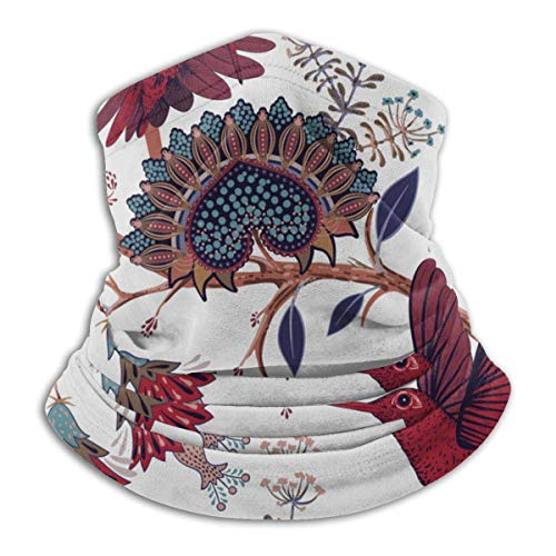 Jwohek Bandanas Half Face Balaclava Papel pintado colorido con Paisley y calentador de cuello de microfibra decorativo para exteriores, deportes