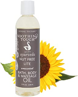 Soothing Touch Nut Free Lite Massage Oil, 8 Ounce -- 2 per case.