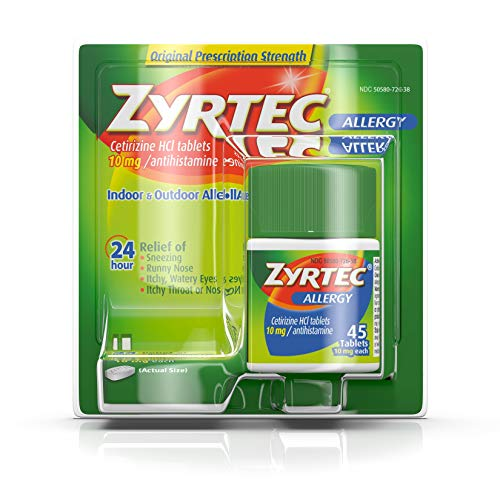 Zyrtec Allergy 24 Hour Protection