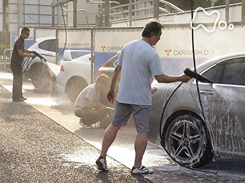 「梅雨明けのコイン洗車場で」