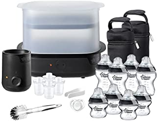 Tommee Tippee Closer to Nature Complete Feeding Kit, Pack of 1 - Black