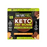 Nature Fuel Keto Fat Bomb - Gluten Free with Coconut Oil MCTs - Peanut Butter Cup - 14 Count
