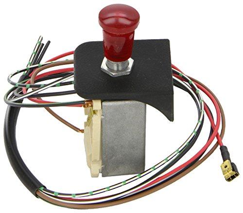 HELLA 6HD 002 535-101 Warnblinkschalter - Zugbetätigung - 12V - Einbau - Kabellänge: 600mm - mit Glühlampe