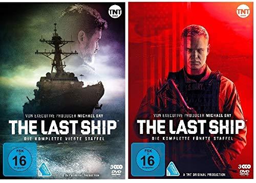The Last Ship - komplette Staffel 4+5 im Set - Deutsche Originalware [6 DVDs]