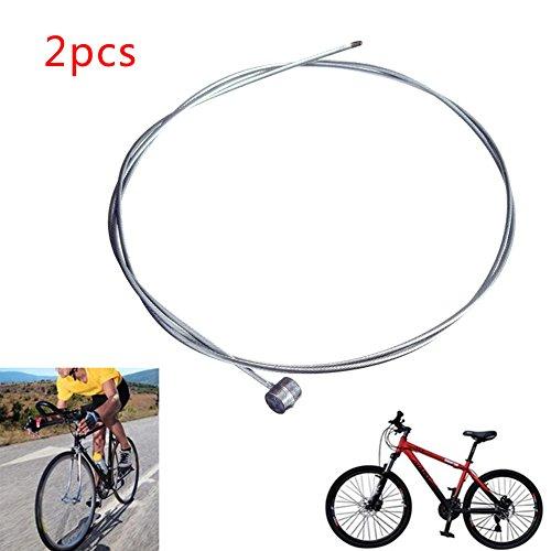 Crewell - Cable de Freno para Bicicleta MTB de 1/2/5/10 Piezas, Cable...