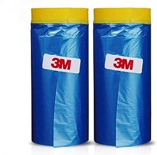 3M Automotive Best Masking Tape Painting, Tape`n Drape Pre-Taped Masking Film (2 of Set (35.4 inch))