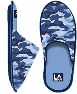 LA Gear Boy's Camo Slippers