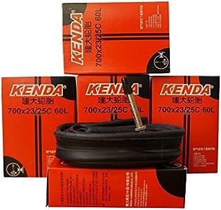 2本セット ケンダ(Kenda) チューブ 700×23-25C(仏式35mm/48mm/60mm/80mm)