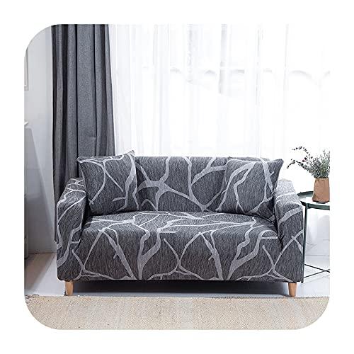 Funda elástica para sofá para sala de estar, antideslizante, elástica, funda de sofá seccional, en forma de L, funda para sillón de esquina de 1/2/3/4 plazas, 27-4 asientos, 235-300 cm
