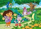 Clementoni Dora la Exploradora - Puzzle de 250 Piezas