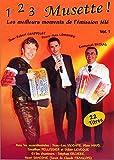 DVD Accordéon ''1, 2, 3 Musette Vol.01''