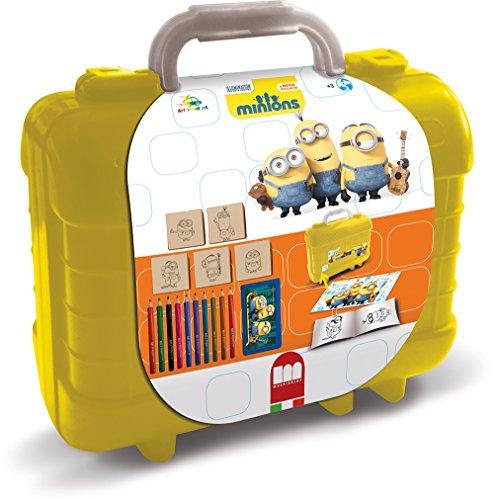 Multiprint Minions - Juegos de Sellos para niños (Multicolor, Caucho, Madera, 3 año(s), Italia, 230 mm, 105 mm)