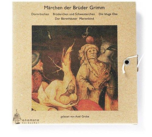 Märchen der Gebrüder Grimm, Audio-CDs, Tl.3, Dornröschen (Bibliophile Hörbuch-Edition / Hörbücher in handgefertigten Schmuckschachteln)