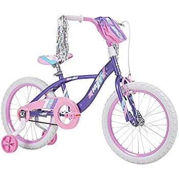 Huffy Kid Bike Quick Connect Assembly Glimmer 16 inch Purple