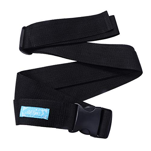 Healifty 5CM Wheelchair Seat Belt Lap Strap with Buckle for Elderly and Children Size L