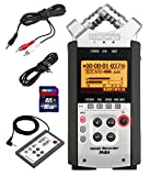 Zoom H4n Handy Mobile 4-Track Recorder - Bundle w/16GB Class 10 SDHC Card,...