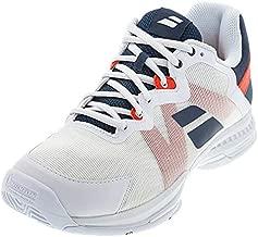 Babolat Men's SFX3 All Court Tennis Shoe (12, White/Estate Blue)