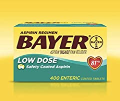 Safety coated for added stomach protection Recommended by doctors for aspirin regimen use 400 enteric coated tablets Small, easy-to-swallow tablets ?Low dose pain reliever