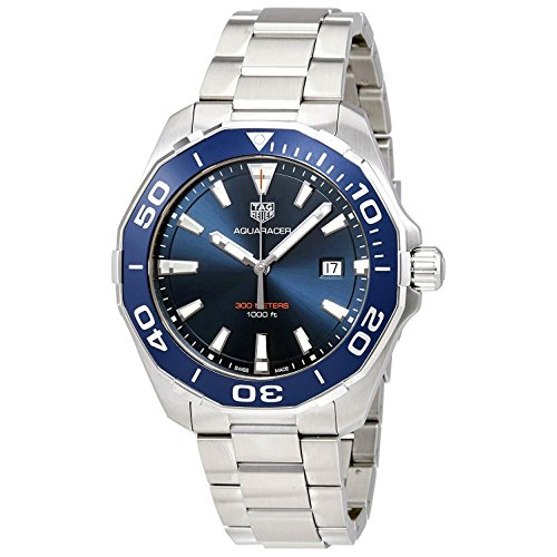 TAG Heuer Aquaracer Blue Dial 43mm Men's Watch
