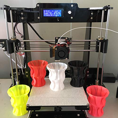 Sintron] NEW Ultimate 3D Printer Full Complete Kit TW-101 2016 Upgrade Pro & Easy 3D Printer Reprap Prusa i3 + MK8 Extruder, Stepper Motor and LCD Controller