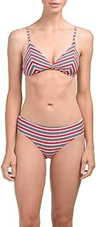 Nip Tuck Swim Bond-Eye Australia Swimsuit Lucy Cross Front Triangle Bikini Set