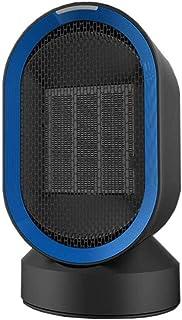 CFTGB Silence Calentador Calentador portátil Personal Radiador Torre Vertical 600W PTC Cerámica Calentador de Espacios Ventilador Gran Angular Calentamiento rápido de Ministerio del Interior