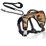 ZXC1475 Dog Walking Guinzaglio - Regolabile Guide Dog Corda, Cane Toracica Pet Guinzagli, Collare Dell'animale Domestico Corda Della Trazione A Prova Di Esplosione (Size : M)