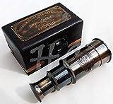 Generic Victoriano Marine Telescopio de latón de Mano Antiguo Ealing London Catalejo náutico |Telescopio Antiguo de latón |Viene con Caja de Madera |Ideal para decoración del hogar |