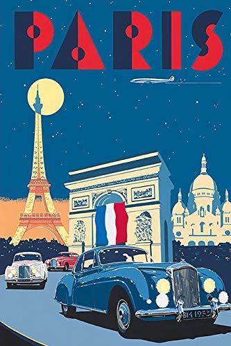 Paris: 2019 Calendar Daily Weekly & Monthly Organizer Planner