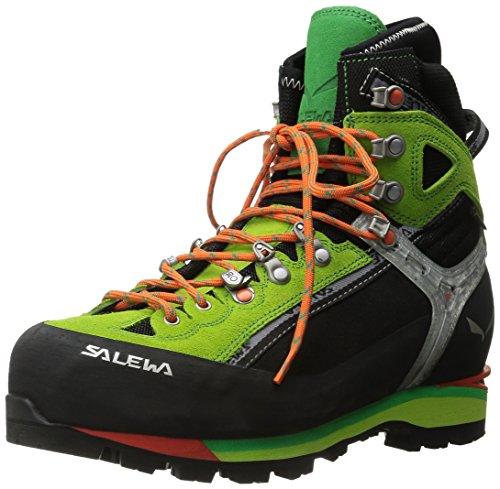 Salewa MS Condor Evo Gore-TEX, Scarponi da trekking e da escursionismo Uomo, Nero (Black/Cactus), 42...