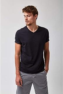 Camiseta V Neck - Preto