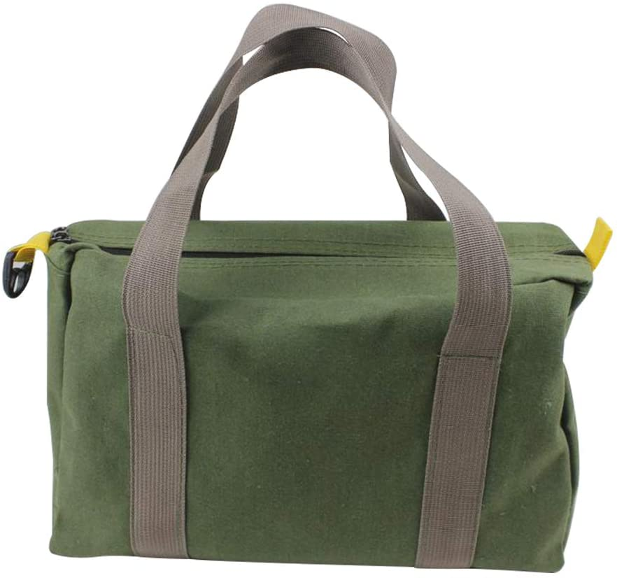 Wide Mouth Tool Outlet ☆ Free Shipping Bag Canvas Heavy Handbag Po Max 49% OFF Capacity High Duty