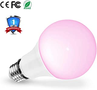 LED Grow Light Bulb, Full Spectrum Growing Lights for Indoor Plants, E26 E27 Plant Light Bulbs for Indoor Greenhouse, Hydroponic Succulent Herbs Orchid Bonsai Vegetable Flower Seeds
