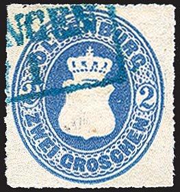 Goldhahn Oldenburg Nr. 18 gestempelt Briefmarken für Sammler