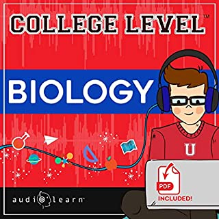 College Level Biology audiobook cover art