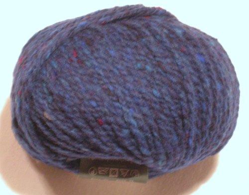 Schulana Donegal-Tweed in royalblau